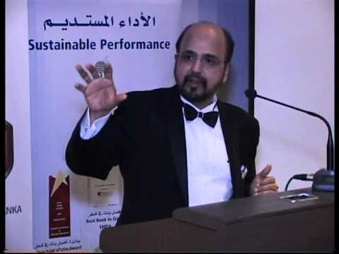 Group CEO of Doha Bank - Dr. R. Seetharaman's speech to CASL Qatar Chapter members - Part 2