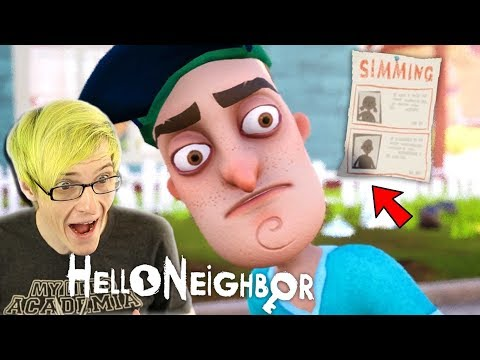 WE ARE THE MISSING KID!? | Hello Neighbor FINAL BUILD (Full Game)