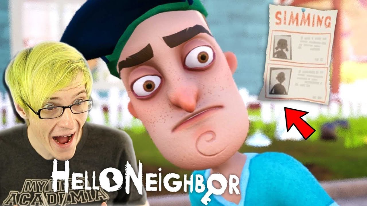 We Are The Missing Kid Hello Neighbor Final Build