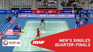 Download Video QF | MS | Anthony Sinisuka GINTING (INA) [7] vs CHOU Tien Chen (TPE) [4] | BWF 2018 MP3 3GP MP4