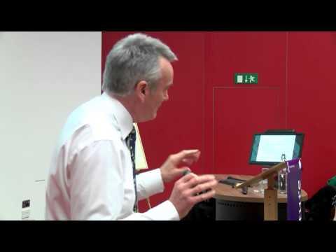 Professor David Sanders' Regius Professorship Lecture 2014 - Part 1: Lecture, University of Essex