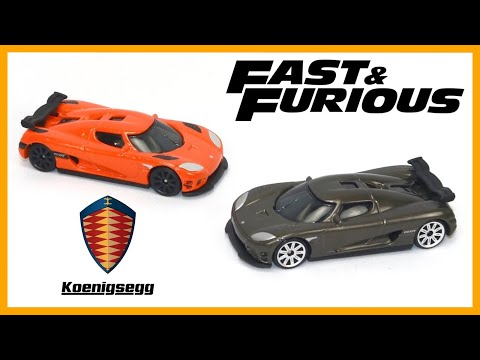 Fast and Furious Koenigsegg x 2 Review