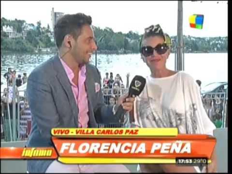 """Florencia Peña recordó cuando era La Pechocha: """"Tenía 16 años y unas tetas gigantes"""""""