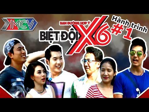 Kiều Minh Tuấn - Trương Nam Thành - Miko vs Cát Tường - Baggio - Mây | Biệt Đội X6 | Hành trình 1.