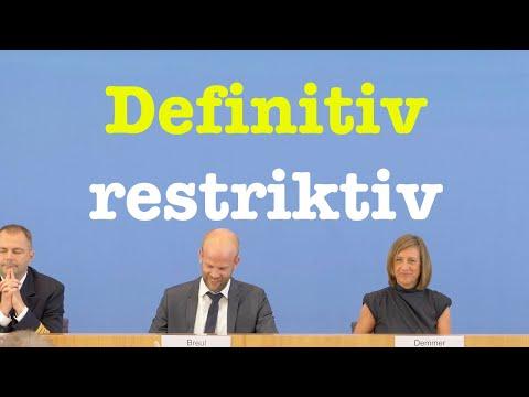 19. Juni 2019 - Bemerkenswerte Bundespressekonferenz | RegPK