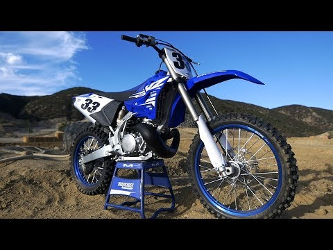 First Ride 2018 Yamaha YZ250 2 Stroke - Motocross Action Magazine