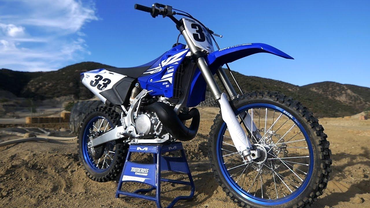 First Ride 2018 Yamaha Yz250 2 Stroke Motocross Action Magazine