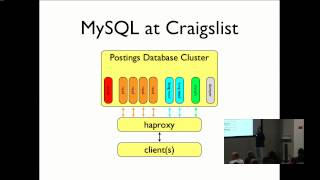 MySQL and NoSQL at Craigslist