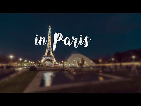 """in Paris"", an upbeat, cinematic journey through the city of Paris"