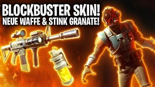 PEAU BLOCKBUSTER! NOUVEAU WAFFE - STINK GRANATE! 🔥 Fortnite: Bataille Royale