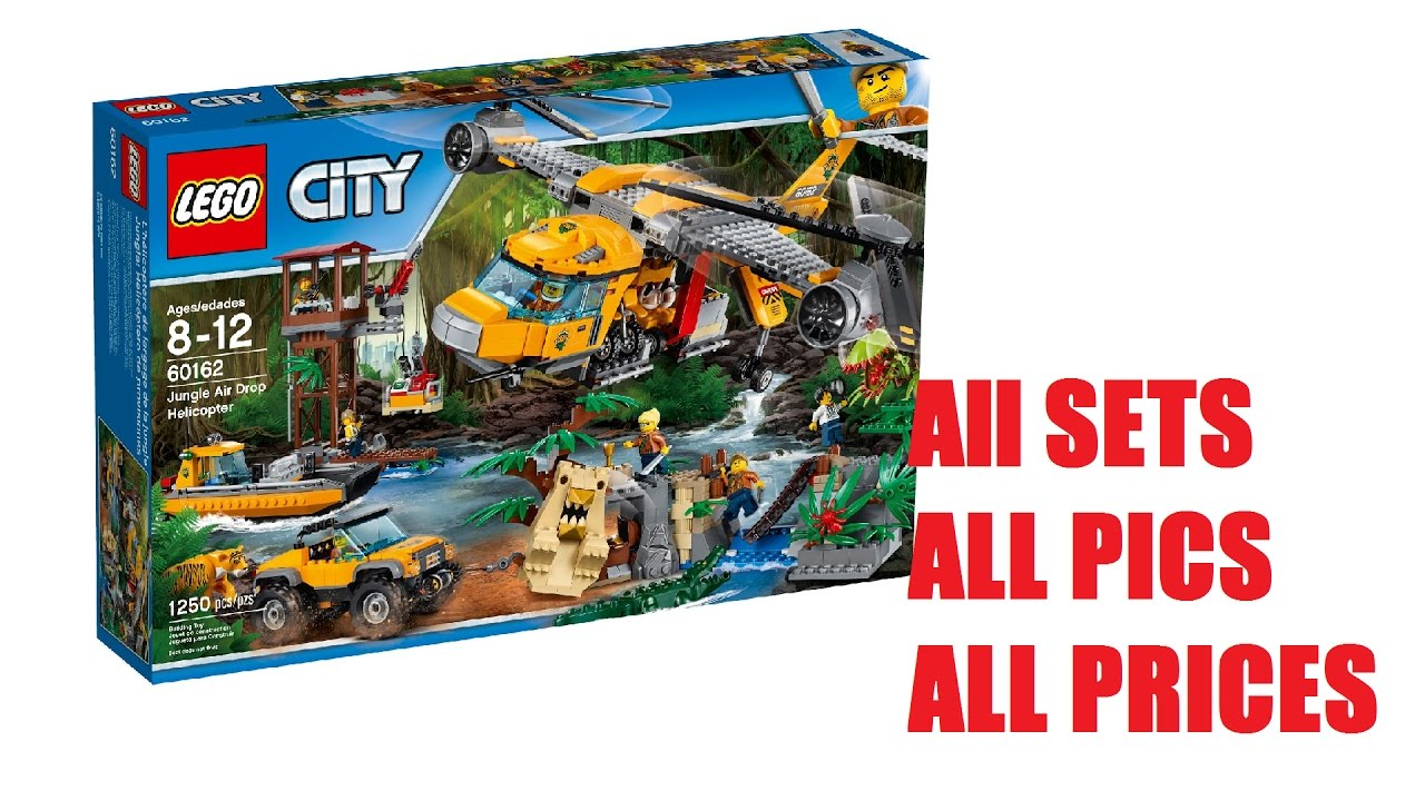 LEGO Summer 2017 City Sets: Jungle Theme - Official Images ...