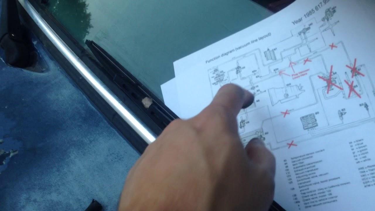 85 Mercedes 300D Vacuum Lines - YouTube on porsche 928 wiring diagram, mercedes 300d oil cooler, oldsmobile cutlass wiring diagram, mercedes 300d radiator, mercedes 300d fan belt, mercury milan wiring diagram, mercury capri wiring diagram, vw thing wiring diagram, mercedes 300d manual, buick reatta wiring diagram, mercury zephyr wiring diagram, toyota van wiring diagram, mercedes 300d exhaust system, cadillac eldorado wiring diagram, mercedes 300d wheels, dodge aries wiring diagram, mercedes 300d engine swap, mercedes 300d transmission problems, cadillac deville wiring diagram, pontiac fiero wiring diagram,