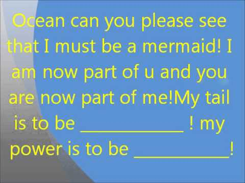Mermaid Spell! - YouTube
