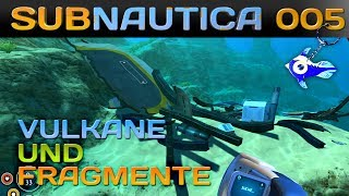 SUBNAUTICA [005] [Vulkane und Fragmente] Let's Play Gameplay Deutsch German thumbnail