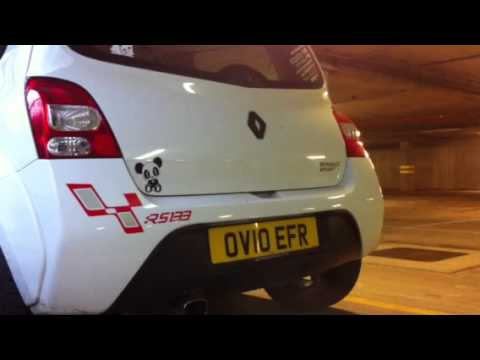 Renaultsport Twingo 133 Cup modified exhaust