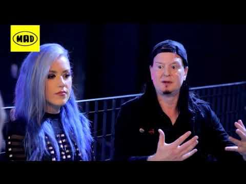 Arch Enemy interview (TV WAR 1/10/17)
