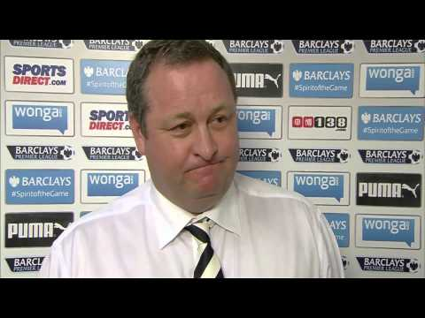 Mike Ashley Interview - Sky Sports 24th May 2015