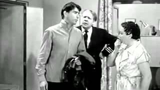 """Tina Lattanzi doppia un attrice nel ruolo di Jolanda in """"Gli zitelloni"""" un film del 1958"""