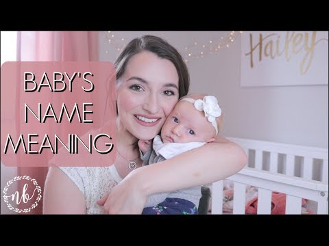 HOW WE CHOSE OUR BABY'S NAME   SPECIAL MEANINGS   Natalie Bennett