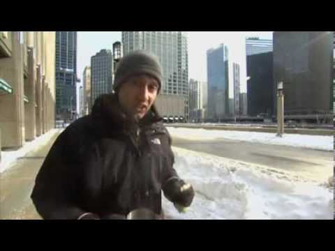 Sky's Dominic Waghorn Makes Instant Snow From Boiling Water