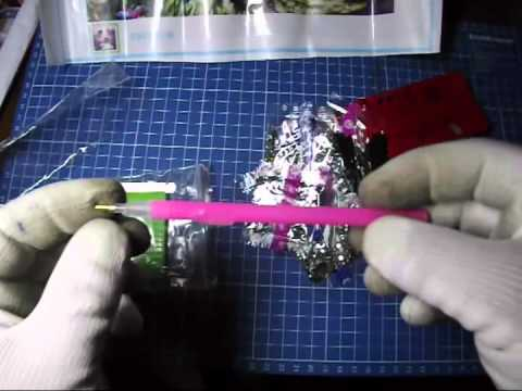 Как делать алмазную вышивку с клеем