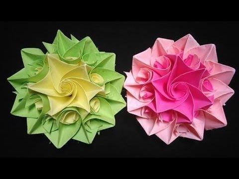 Cách làm hoa giấy trang trí hộp quà - video tổng hợp