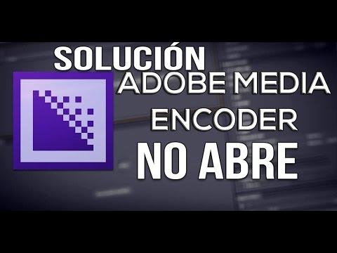 Solución error adobe media encoder no abre | no codifica
