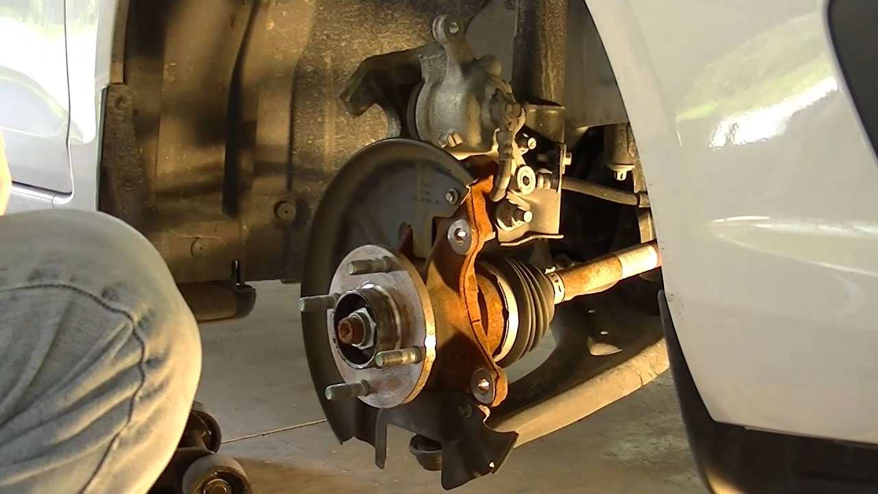 replacing the front brakes on a 2014 ford fiesta youtube. Black Bedroom Furniture Sets. Home Design Ideas