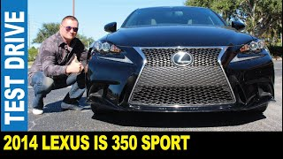 2014 Lexus IS 350 3.5L V6 F Sport 306HP 8-speed automatic driven by Jarek Clearwater Florida USA