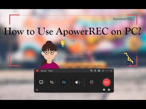 【Guide】How To Use ApowerREC To Record Screen On PC?