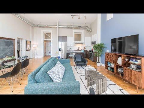 A 2-bedroom plus study model at Uptown's new Stewart School Lofts