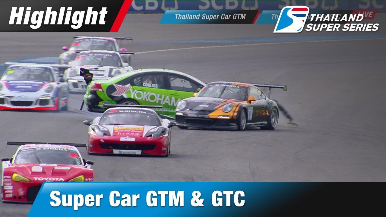 TSS 2016 [Round 1-2] Highlight Super Car GTM & Super Car GTC (Sun-20-May)