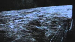 Crue du Tarn à Trébas 81 le 28-11-2014