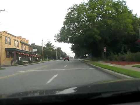 USA: Driving Bethlehem Pike - Chestnut Hill, Philadelphia, 2009