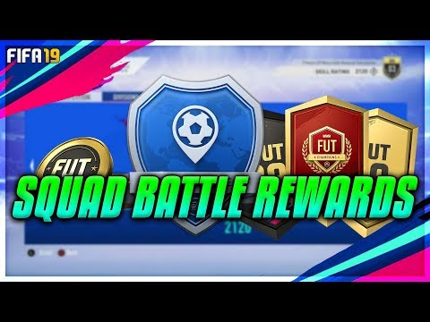 *Live* Squad Battle Rewards - Road To Gold FUT Swap Card - Fifa 19
