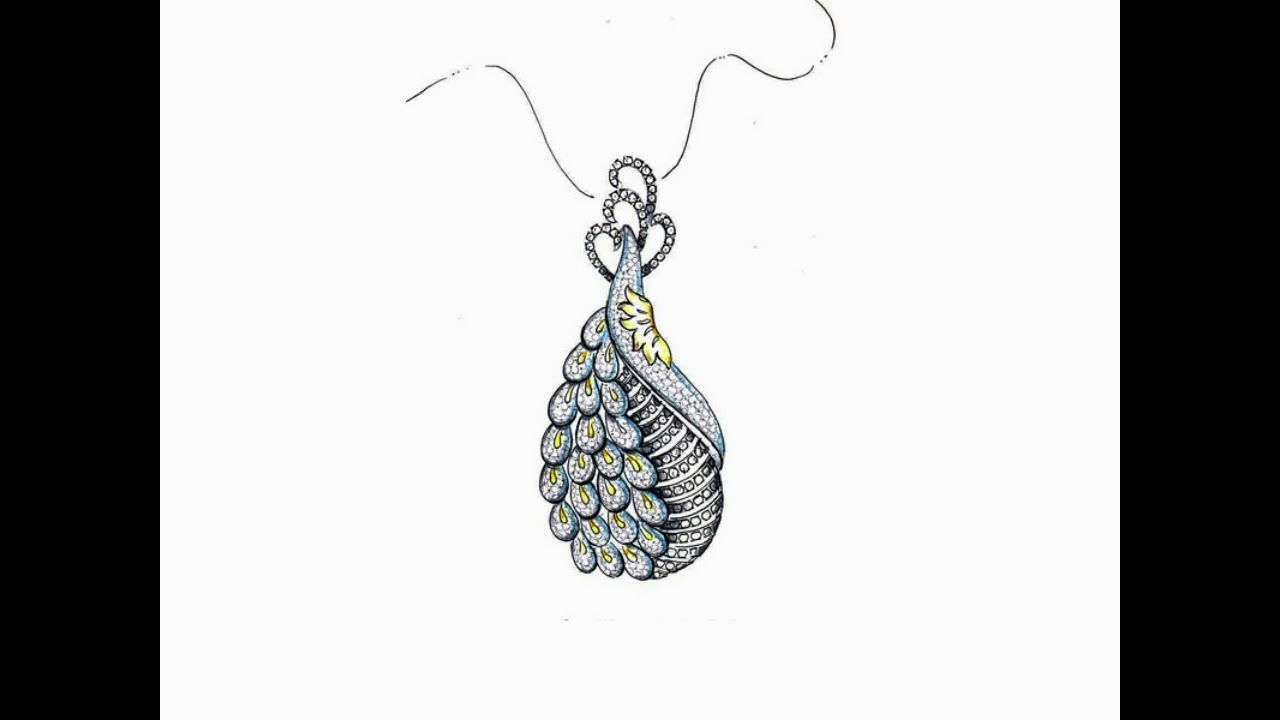 Learn Jewellery Design Process Hand Drawn Jewellery Sketches