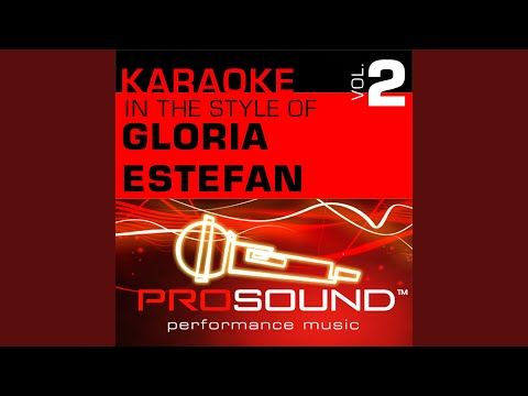 One, Two, Three (Karaoke Lead Vocal Demo) (In the style of Gloria Estefan) mp3