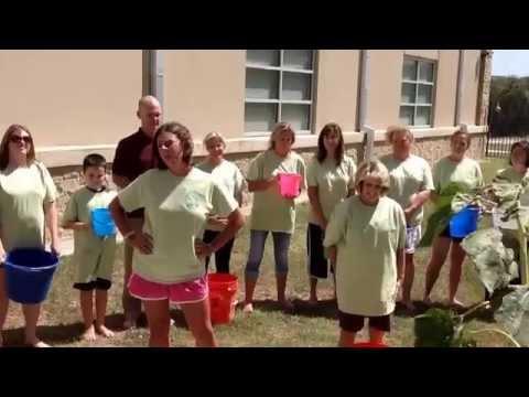 Rooster Springs Elementary School Ice Bucket Challenge 2014