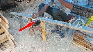 Super Skilled Workers - Ladder Maker Work Fastest