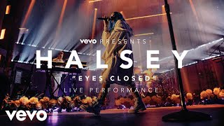 Скачать Halsey Eyes Closed Vevo Presents