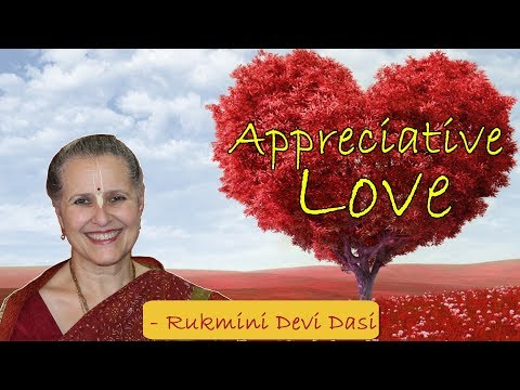 Appreciative Love - Rukmini Devi Dasi | Gratitude | Christmas Special