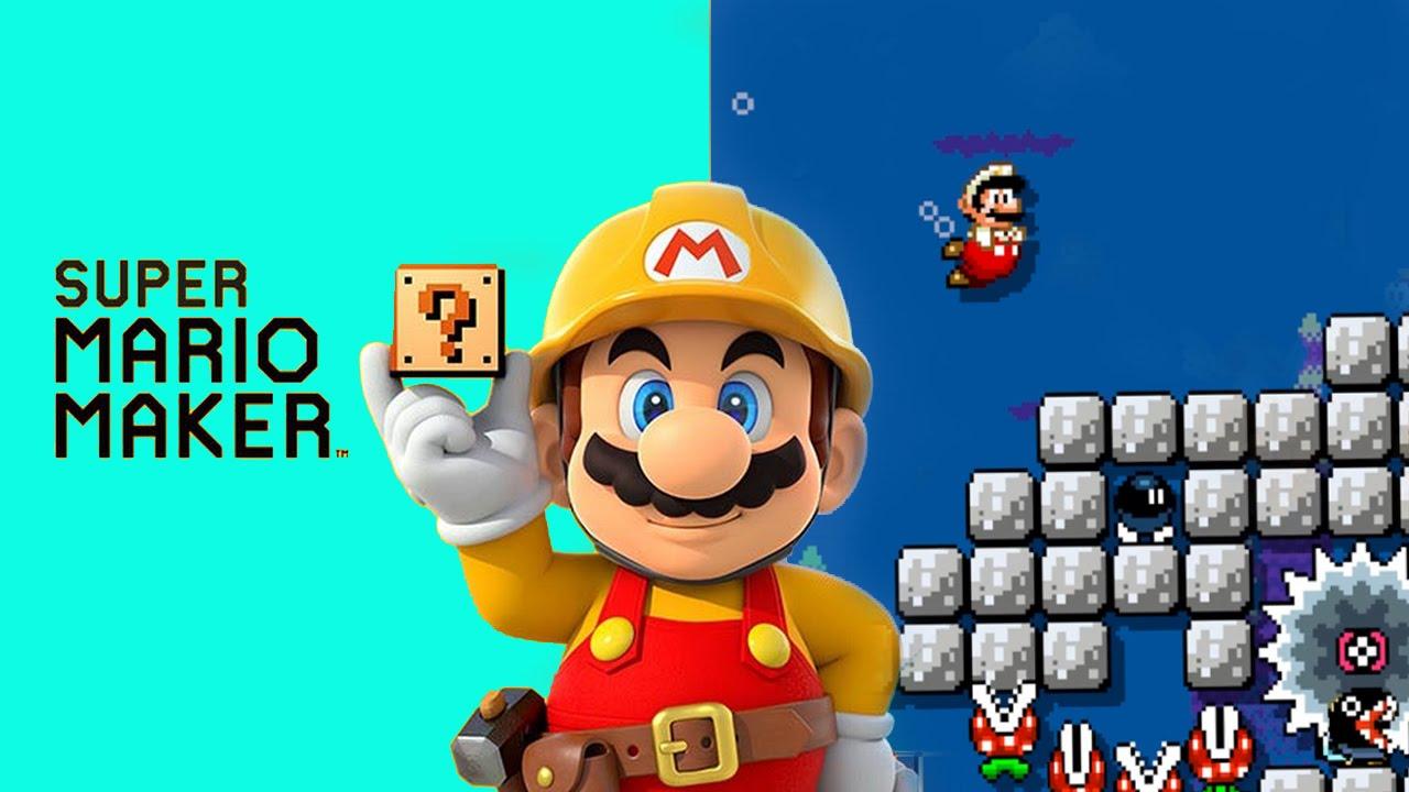Stampy And Sqaishey Mario Maker : Super Mario Maker - Stampy Cat Shark Attack - YouTube