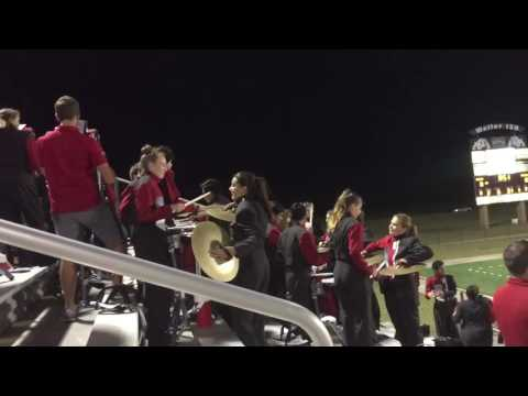 Tomball High School Band 2016 - Drum Cadence - Jam Time