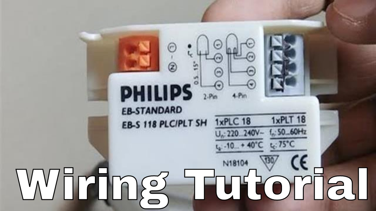 Philips Uv Choke Wiring Tutorial how to do wiring. - YouTube
