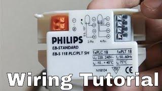Philips Uv Choke Wiring Tutorial how to do wiring