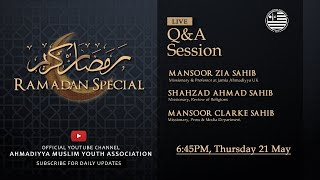 Ramadan Special #4 (Q&A Session)