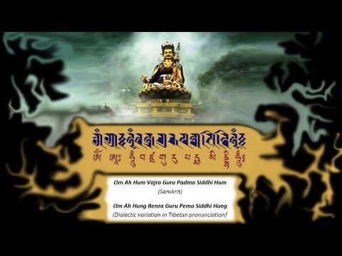 � mantras with pictures of Padmasambhava Guru Rinpoche ☸ Om Ah Hum Vajra Guru Padma Siddhi Hum ☸
