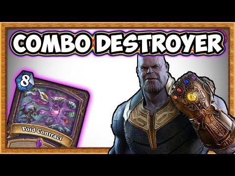 Hearthstone: Thanos Warlock - Combo Deck Destroyer