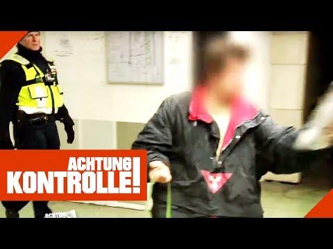 'Du H*rensohn!' Beleidigungen gegen DB Sicherheit in Frankfurt! | Achtung Kontrolle | kabel eins