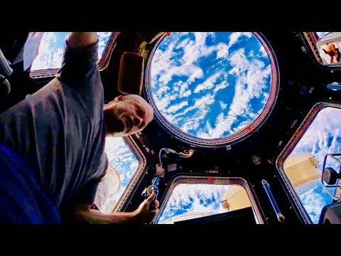 Super IN DEPTH Tour of ISS (International Space Station) in Zero G
